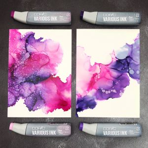Alcohol Ink Art by Jessica Frost-Ballas