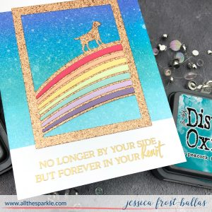 Rainbow Bridge by Jessica Frost-Ballas for Waffleflower