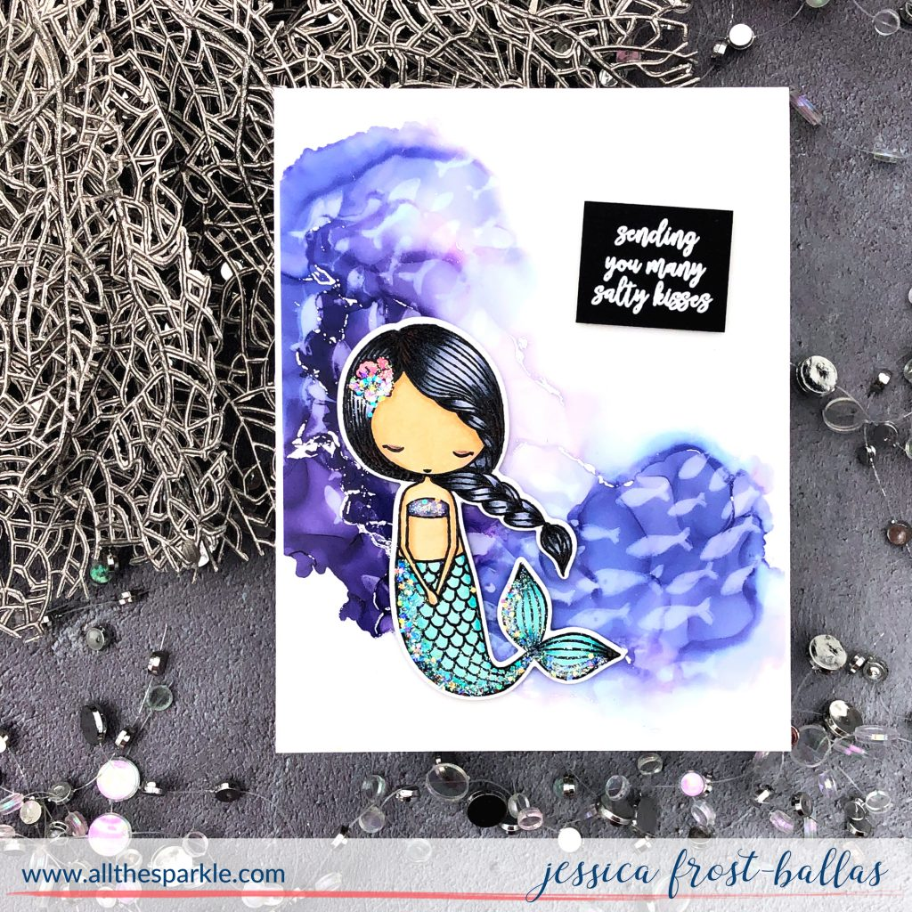 Little Coral Girl by Jessica Frost-Ballas for Picket Fence Studios