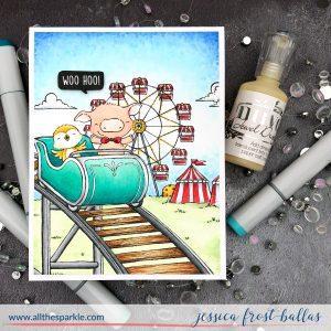 Woo Hoo by Jessica Frost-Ballas for Purple Onion Designs