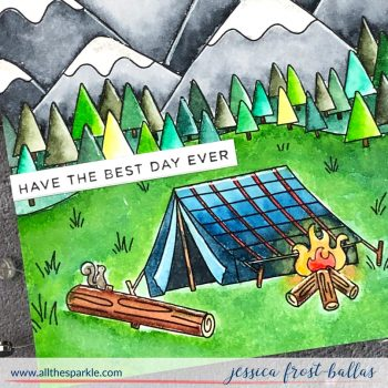 Have the Best Day Ever by Jessica Frost-Ballas for Simon Says Stamp