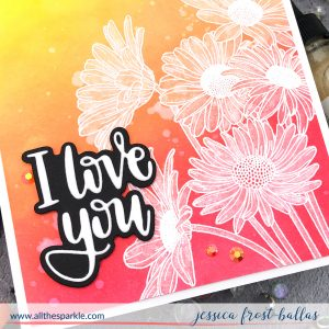I Love You by Jessica Frost-Ballas for Simon Says Stamp