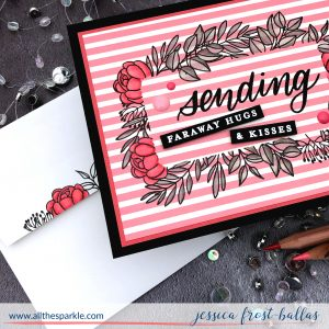 Sending Faraway Hugs by Jessica Frost-Ballas for Simon Says Stamp