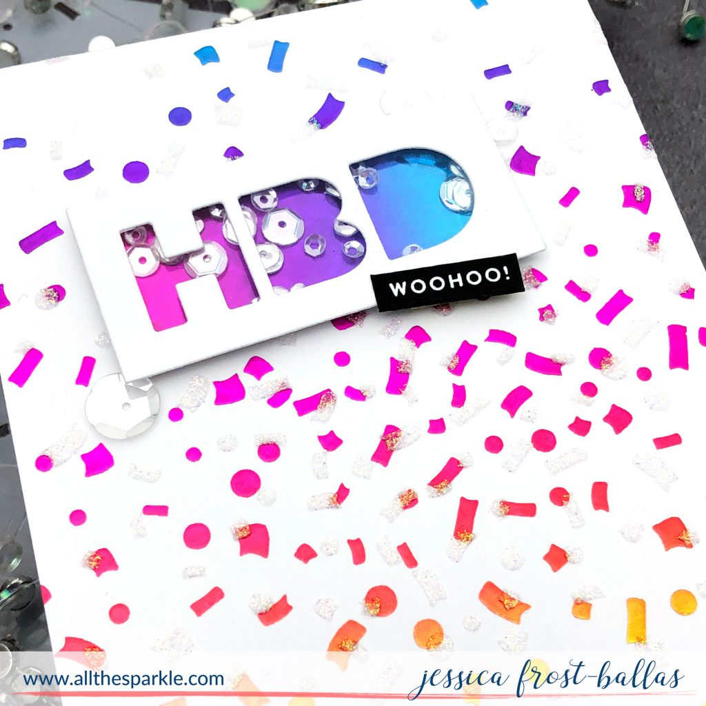 HBD by Jessica Frost-Ballas for Simon Says Stamp