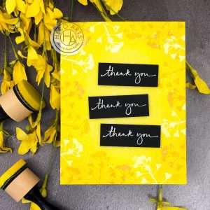 Thank You by Jessica Frost-Ballas for Hero Arts