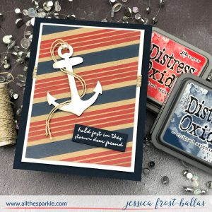 Anchor by Jessica Frost-Ballas for Simon Says Stamp