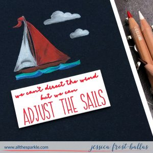 Adjust the Sails by Jessica Frost-Ballas for Simon Says Stamp