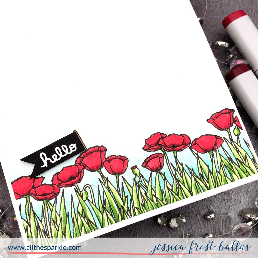 Hello by Jessica Frost-Ballas for Ink Blot Shop