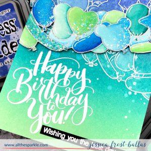 Happy Birthday by Jessica Frost-Ballas for Studio Katia
