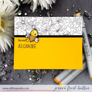 Sweet as Can Bee by Jessica Frost-Ballas for Simon Says Stamp