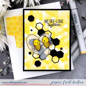 We Bee-Long Together by Jessica Frost-Ballas for Simon Says Stamp