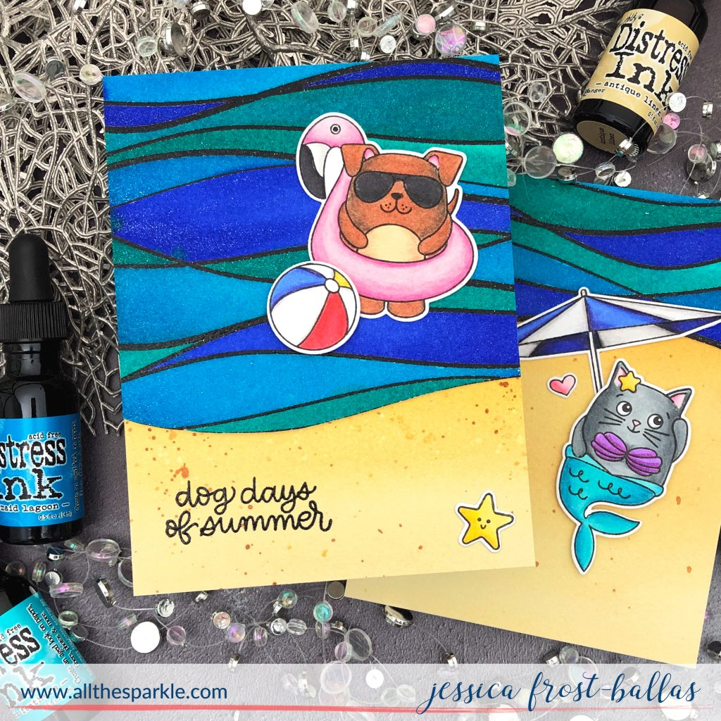 Dog Days by Jessica Frost-Ballas for Simon Says Stamp
