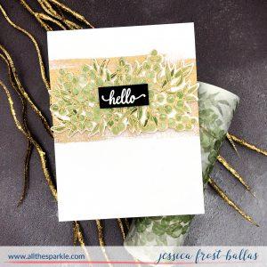 Hello by Jessica Frost-Ballas for Pinkfresh Studios