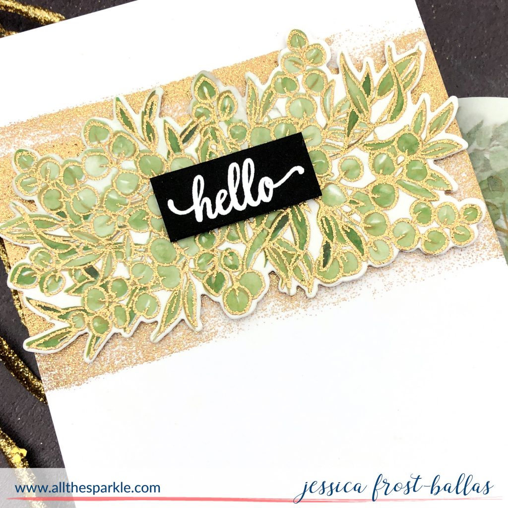 Hello by Jessica Frost-Ballas for Pinkfresh Studios