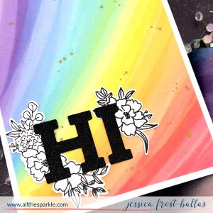 Hi by Jessica Frost-Ballas for Pinkfresh Studios
