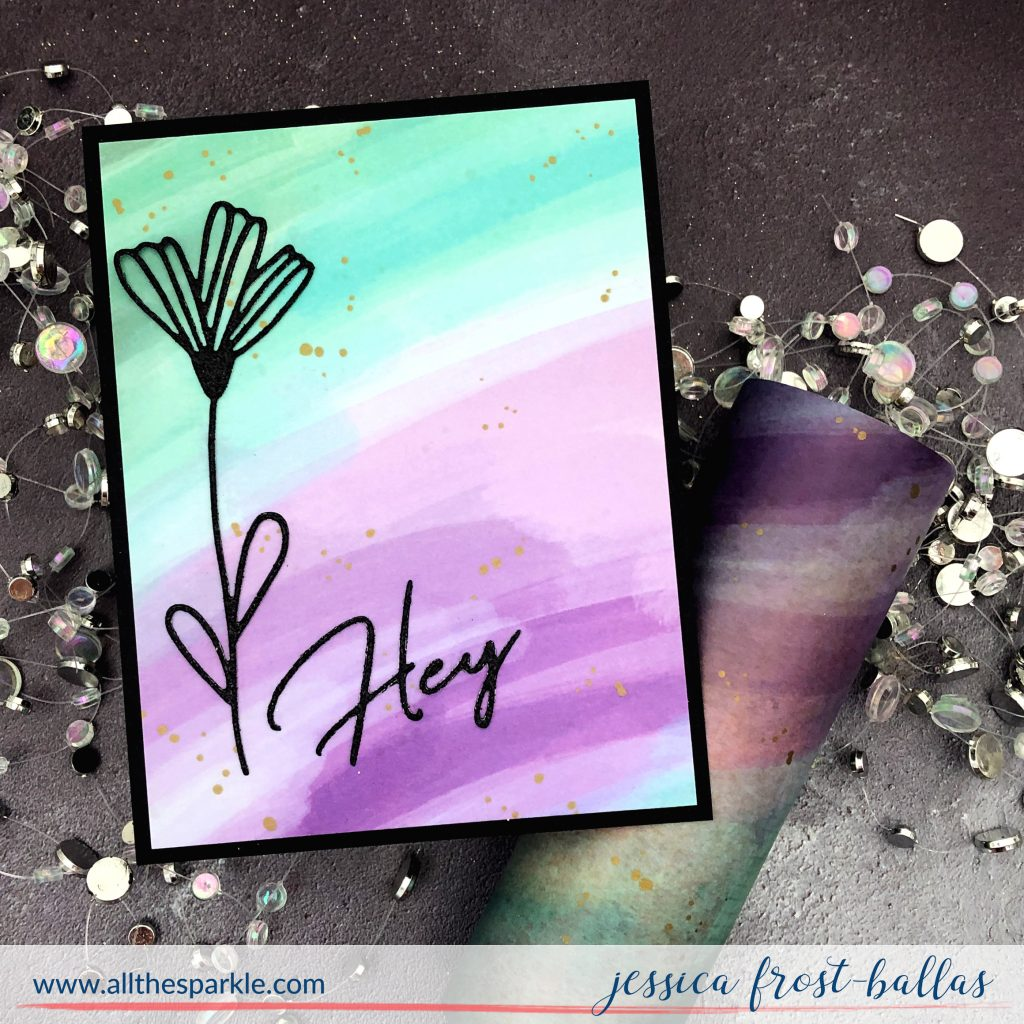 Hey by Jessica Frost-Ballas for Pinkfresh Studios
