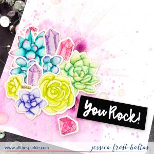 You Rock by Jessica Frost-Ballas for Trinity Stamps