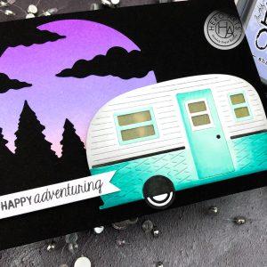 Happy Adventuring by Jessica Frost-Ballas for Hero Arts