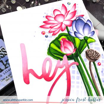 Hey by Jessica Frost-Ballas for Simon Says Stamp