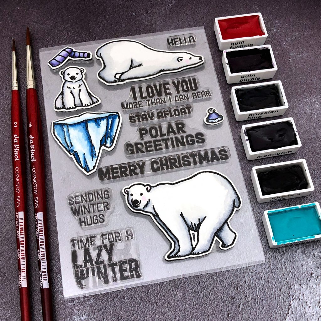 Polar Bear Greetings by Hero Arts