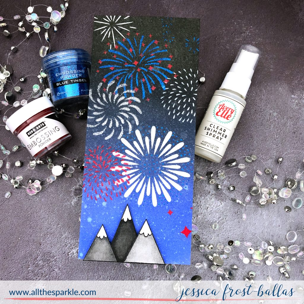 Happy 4th by Jessica Frost-Ballas for Simon Says Stamp