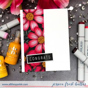 Congrats by Jessica Frost-Ballas for Simon Says Stamp