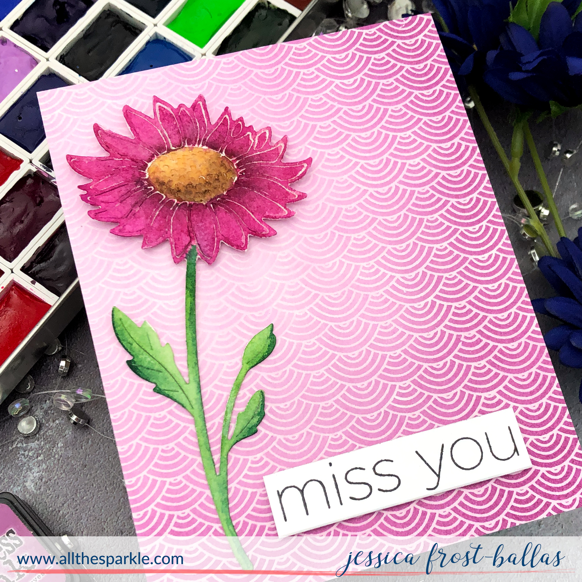 Miss You by Jessica Frost-Ballas for Simon Says Stamp