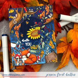 Hello You by Jessica Frost-Ballas for Waffle Flower