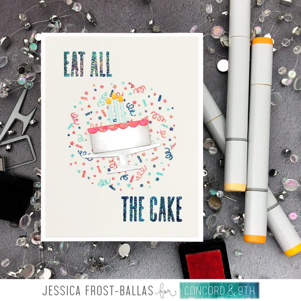Eat All the Cake by Jessica Frost-Ballas for Concord & 9th
