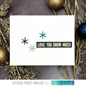 Love You Snow Much by Jessica Frost-Ballas for Concord & 9th