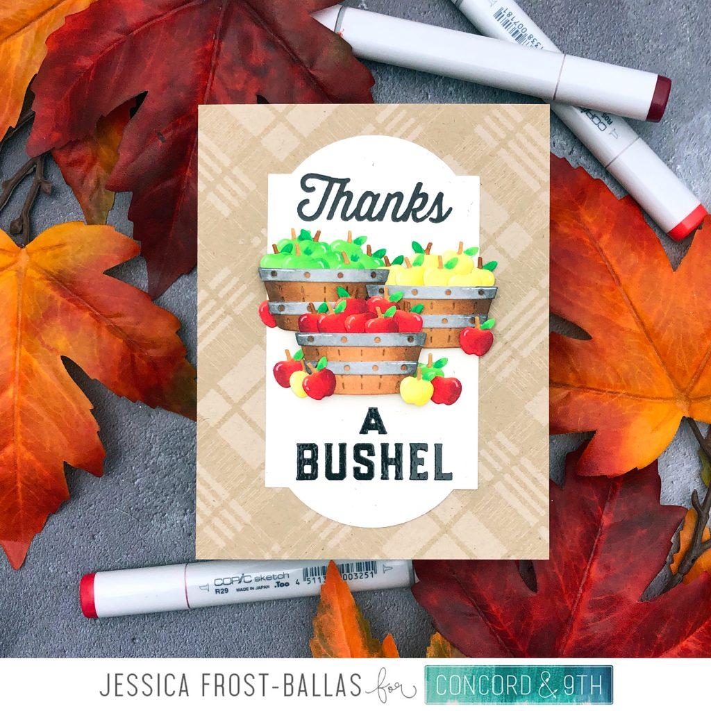 Thanks a Bushel by Jessica Frost-Ballas for Concord & 9th
