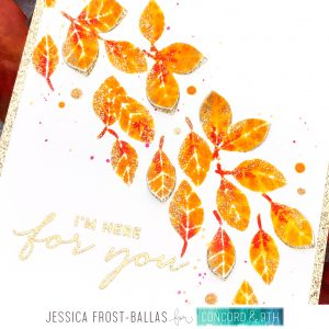 I'm Here For You by Jessica Frost-Ballas for Concord & 9th