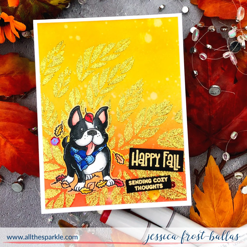 Happy Fall by Jessica Frost-Ballas for Simon Says Stamp