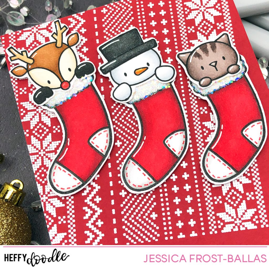Filled With Love by Jessica Frost-Ballas for Heffy Doodle