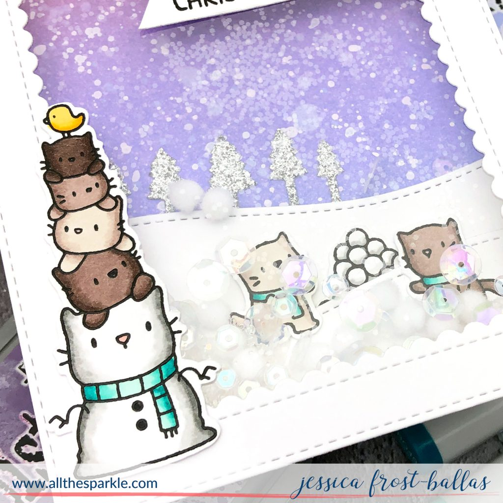 Meowy Christmas by Jessica Frost-Ballas for Simon Says Stamp