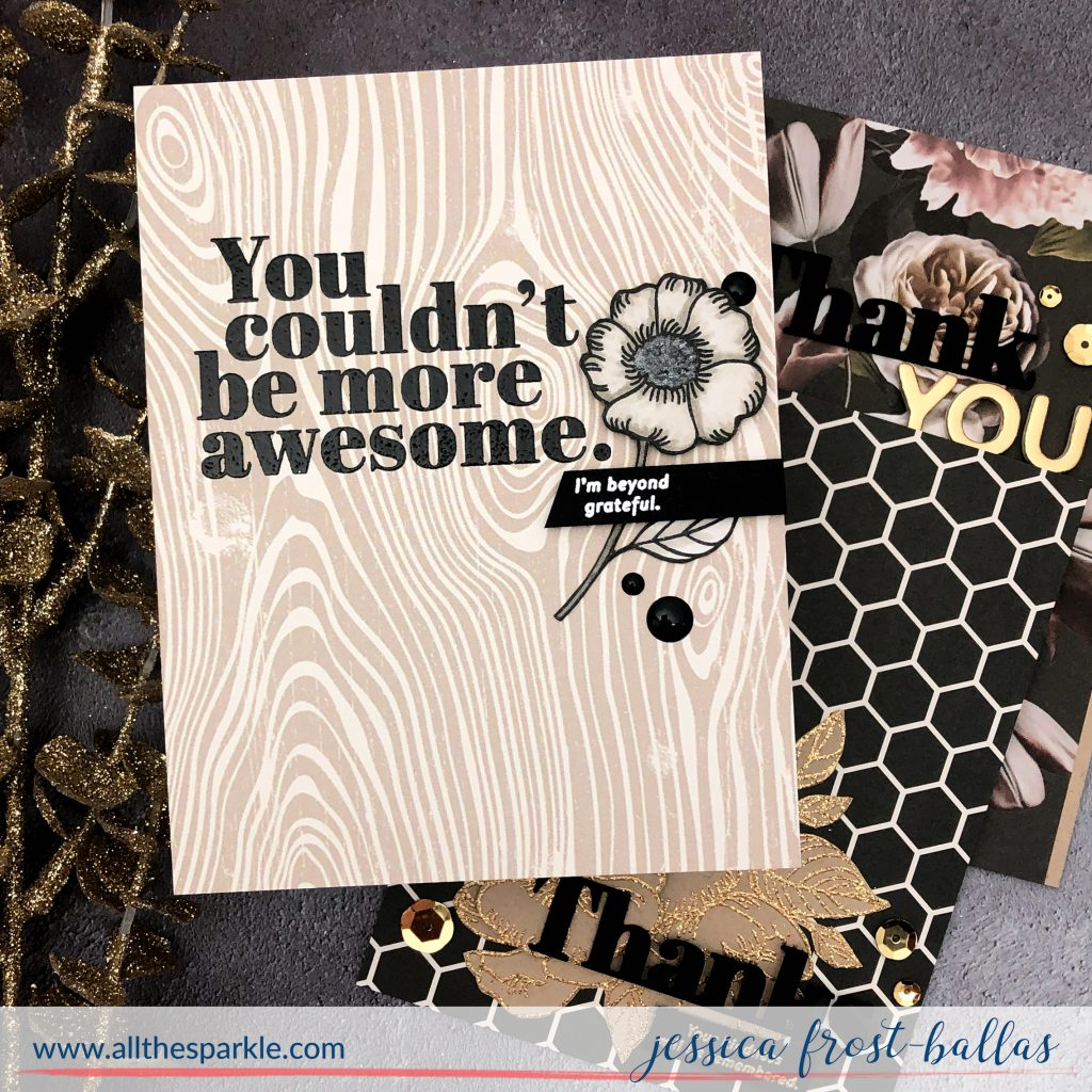 You Couldn't Be More Awesome by Jessica Frost-Ballas for Simon Says Stamp