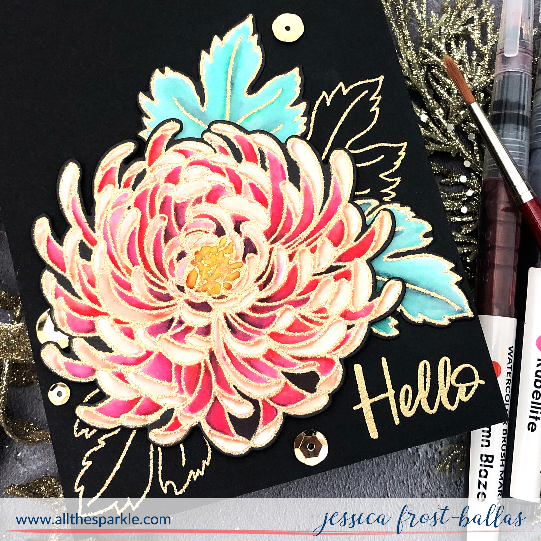 Hello by Jessica Frost-Ballas for Ellen Hutson