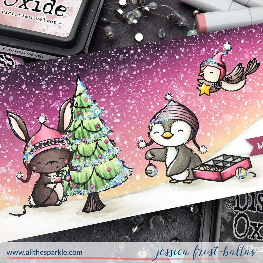 Merry Everything by Jessica Frost-Ballas for MFT Stamps