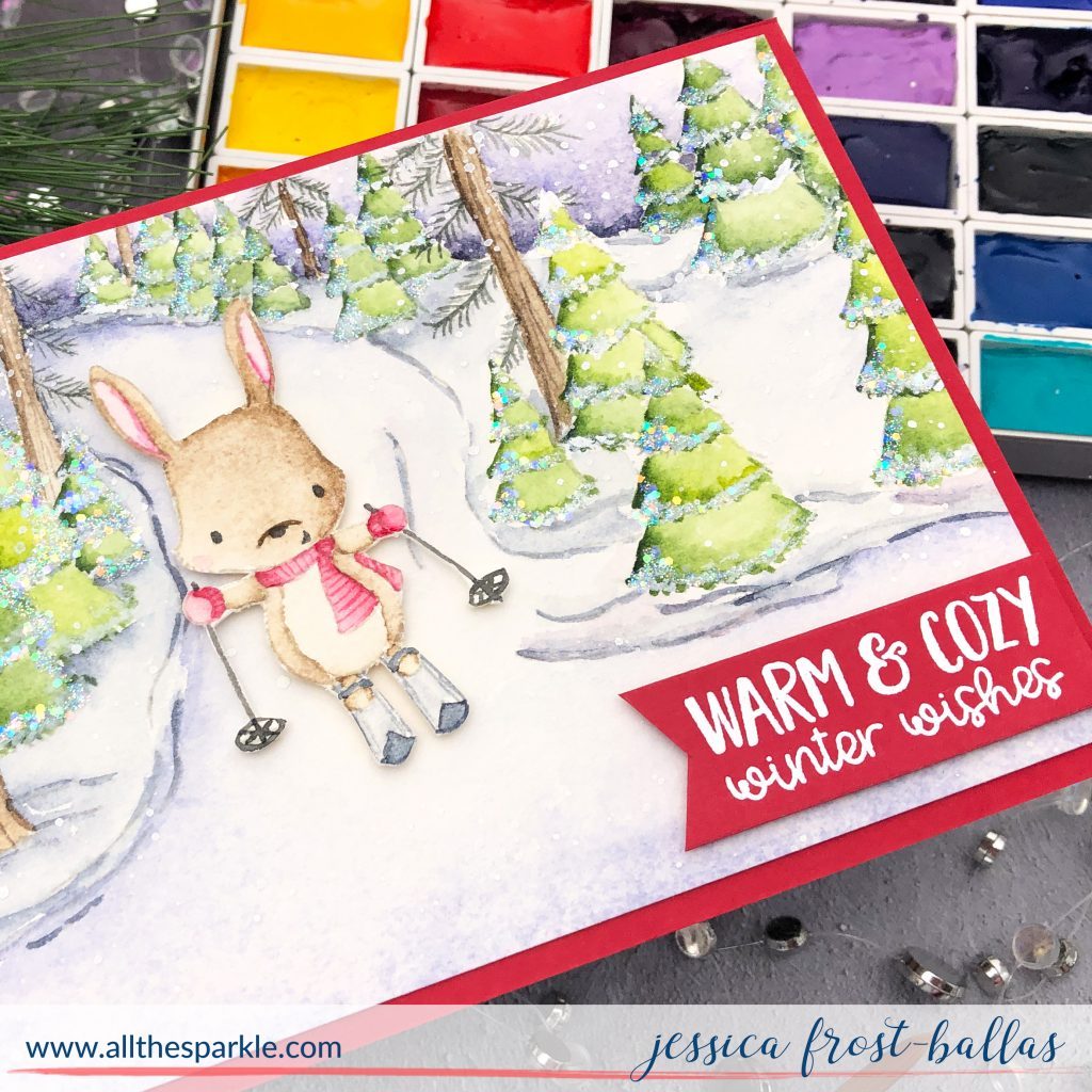Ember Bunny by Jessica Frost-Ballas for Purple Onion Designs