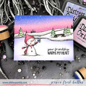 Bianca Snowman by Jessica Frost-Ballas for Purple Onion Designs