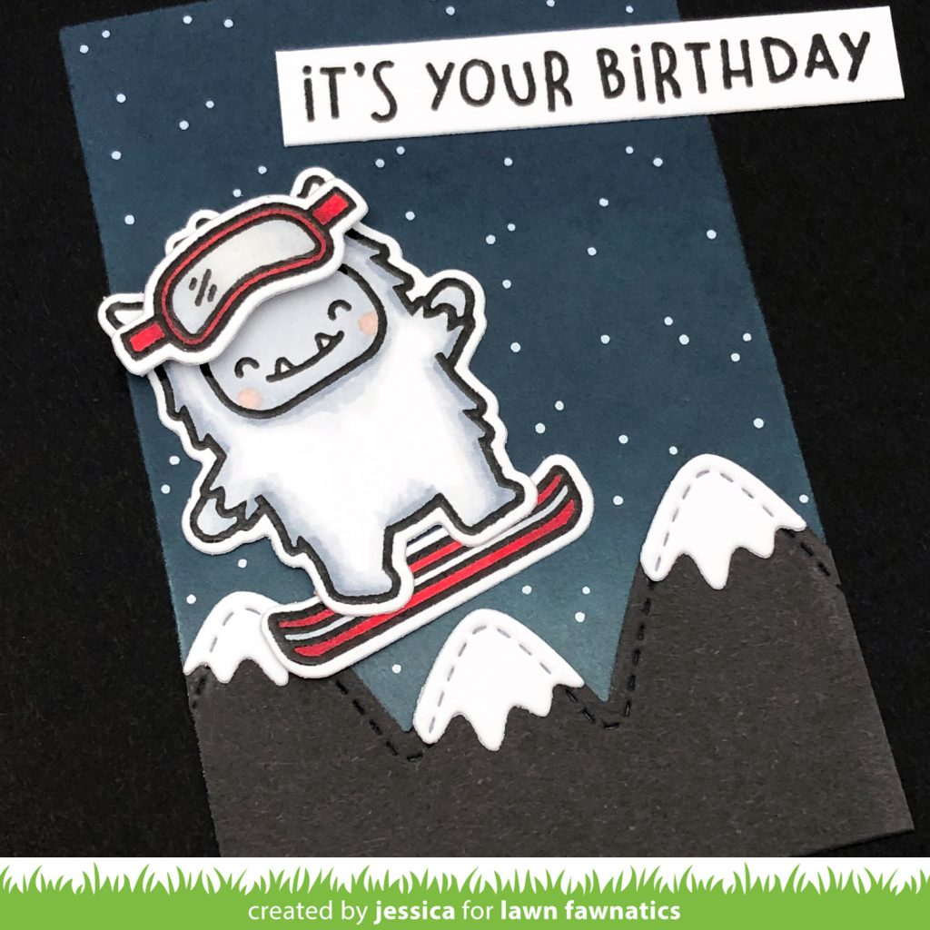It's Your Birthday by Jessica Frost-Ballas for Lawn Fawnatics