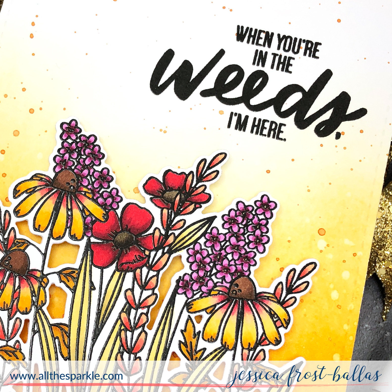 In the Weeds by Jessica Frost-Ballas for Ellen Hutson