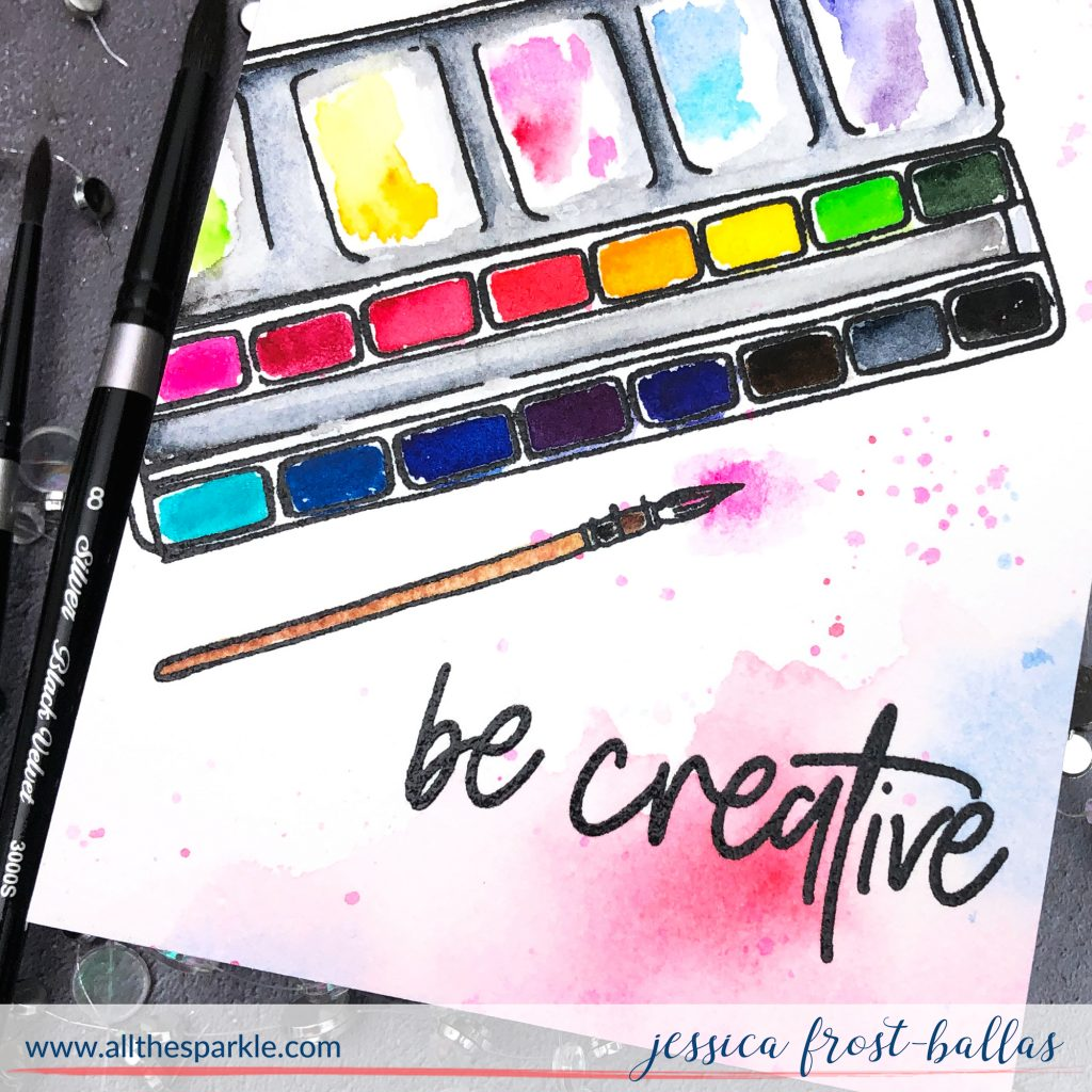Be Creative by Jessica Frost-Ballas for Picket Fence Studios