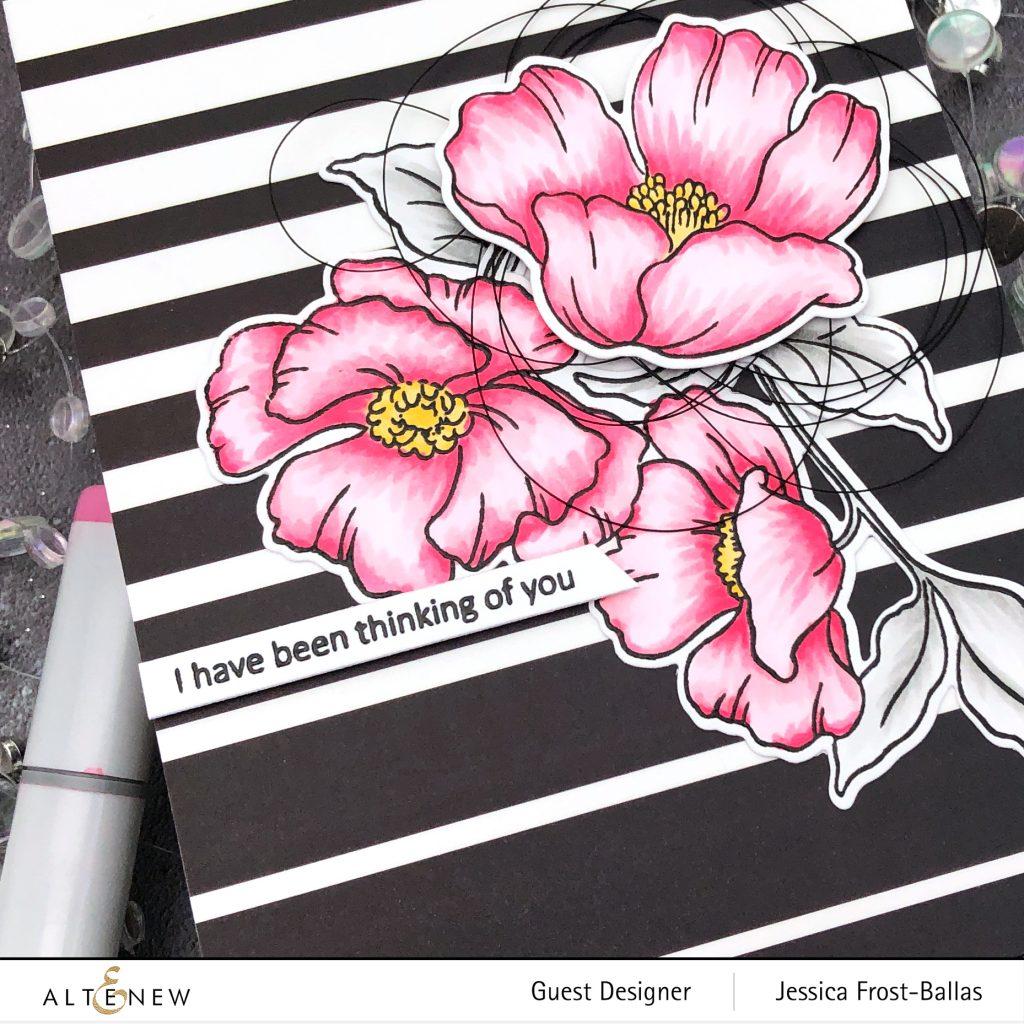 Poppy Garden by Jessica Frost-Ballas for Altenew