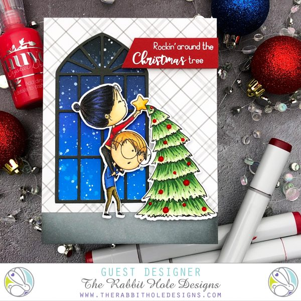 Christmas Frost by Jessica Frost-Ballas for Rabbit Hole Designs