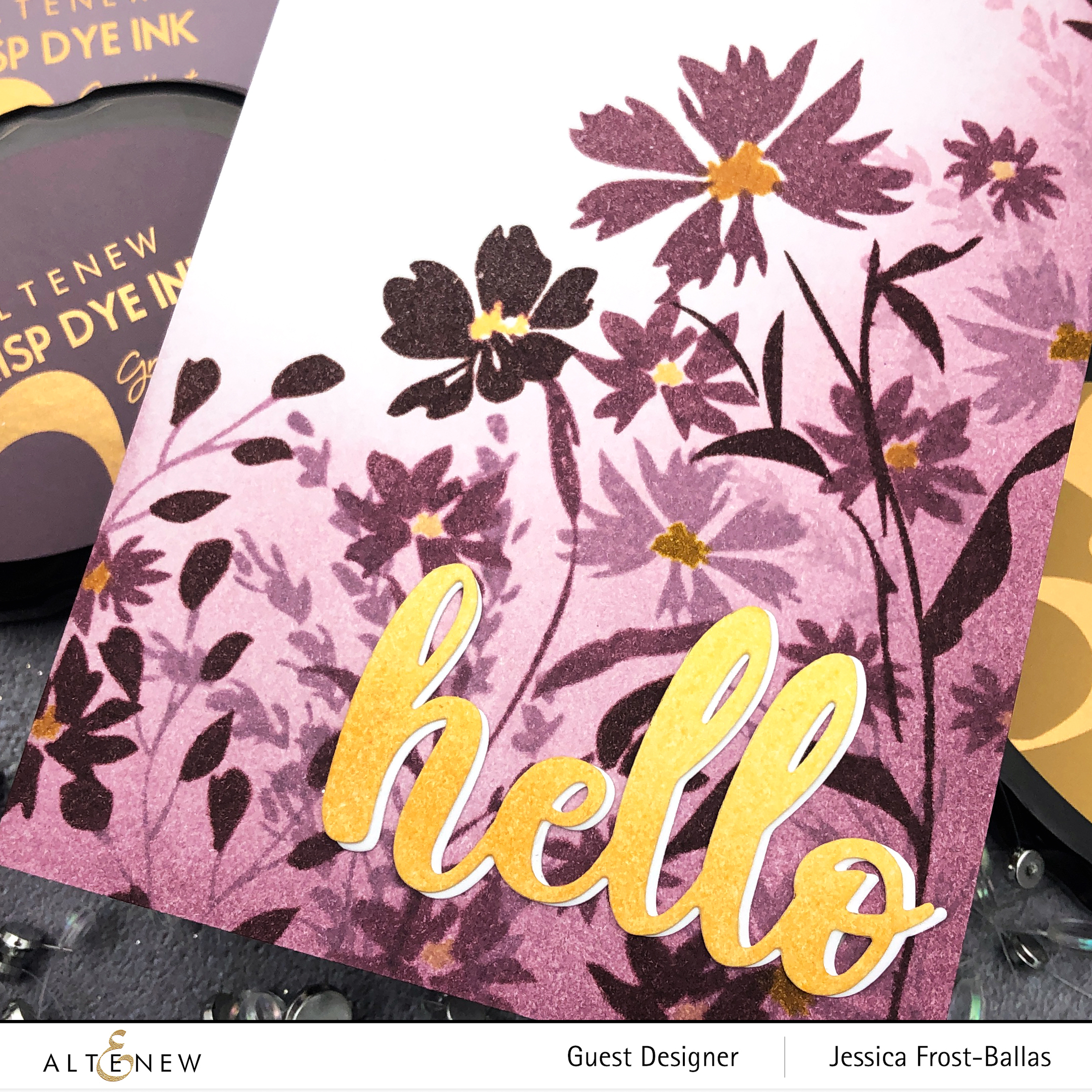 Sugarplums and Fall Harvest Inks by Jessica Frost-Ballas for Altenew