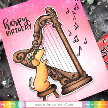 Harpy Birthday by Jessica Frost-Ballas for Waffle Flower