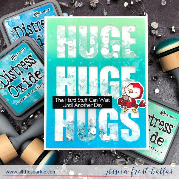 Huge Hugs by Jessica Frost-Ballas for MFT Stamps
