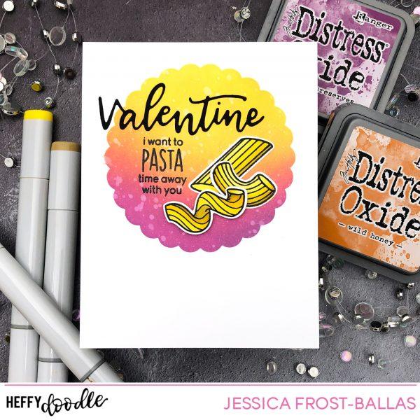 Pasta La Vista by Jessica Frost-Ballas for Heffy Doodle