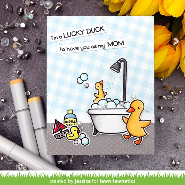 Lucky Duck by Jessica Frost-Ballas for Lawn Fawn